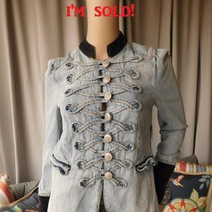 Free People Soldier Denim Jacket SOLD OUT!!😒